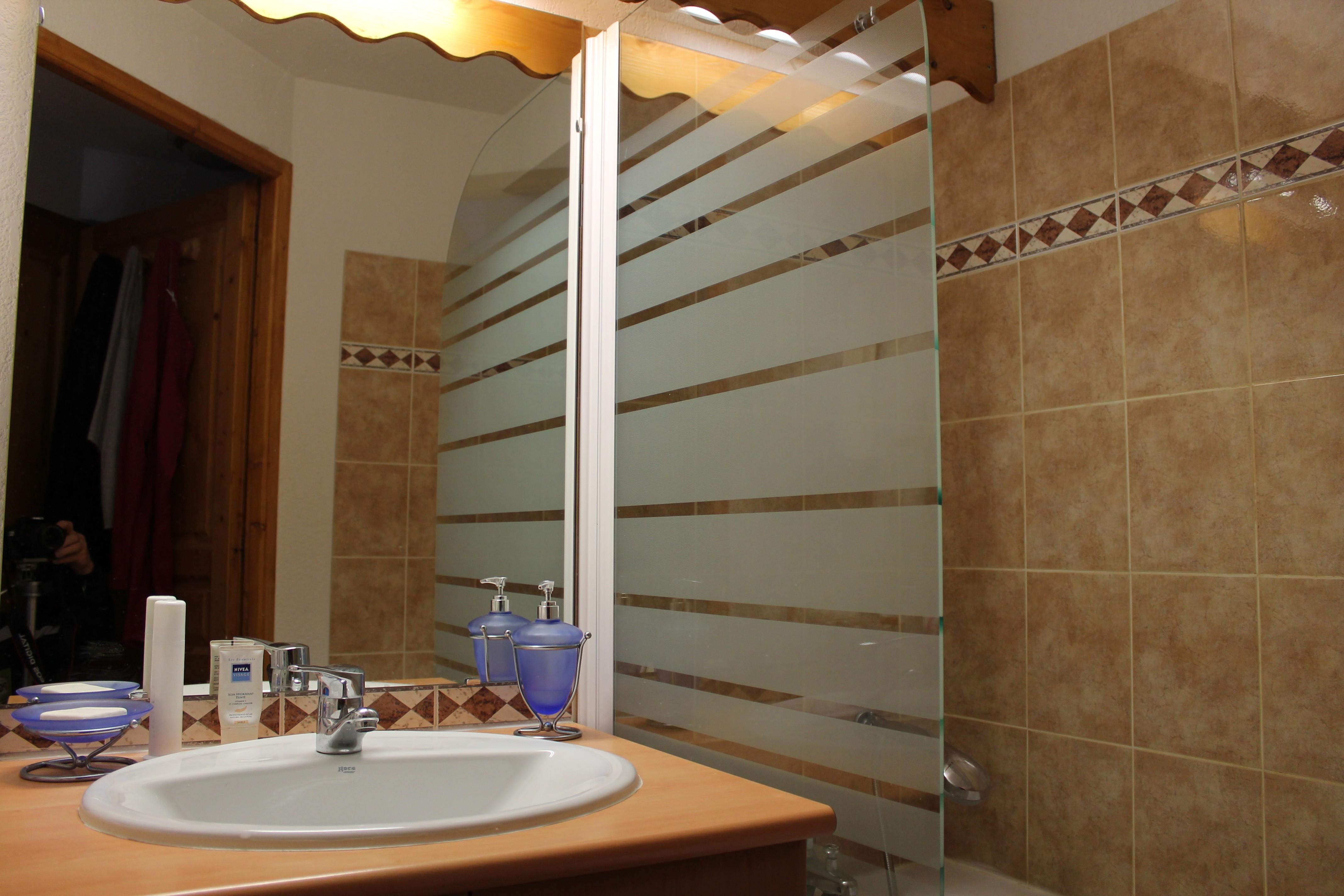 Vos vacances aux contamines montjoie for Fumer dans la salle de bain